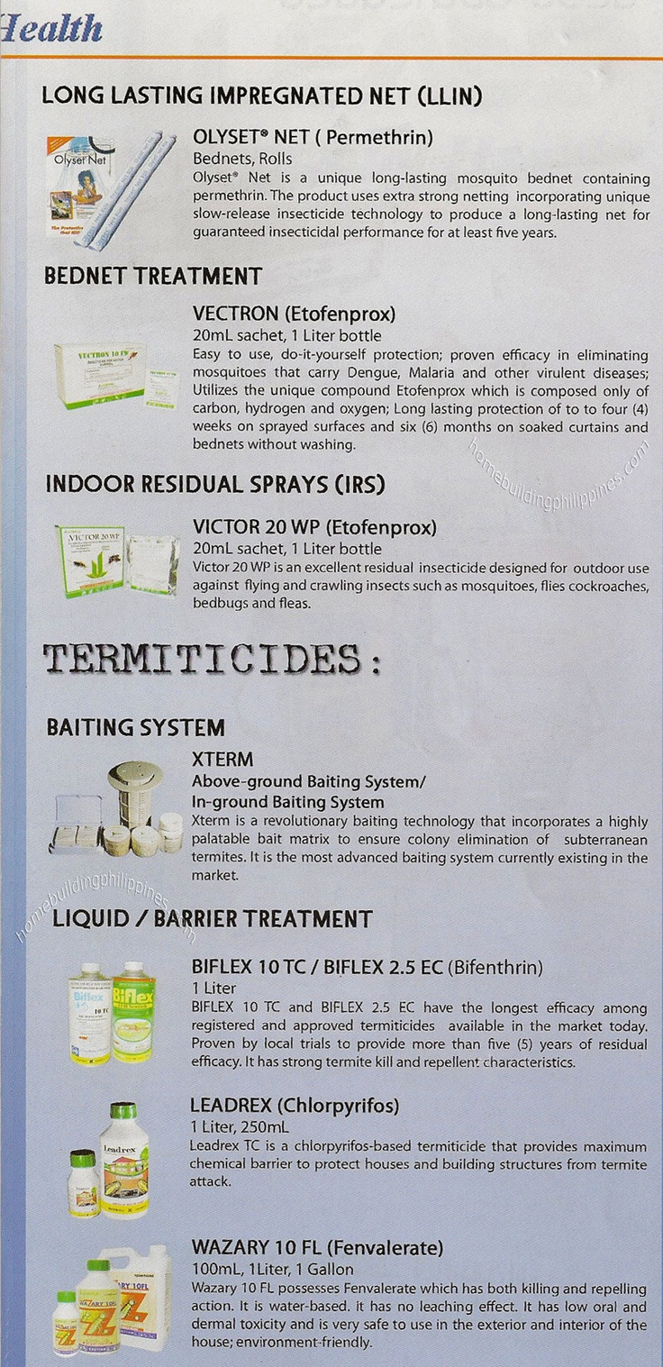 Termiticides Baiting System; Barrier Treatment  sc 1 st  Pinterest & 16 best Construction Materials Suppliers Philippines images on ...
