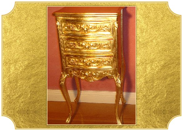 Studio and Workshop Projects – Water Gilding | Gilded Chair