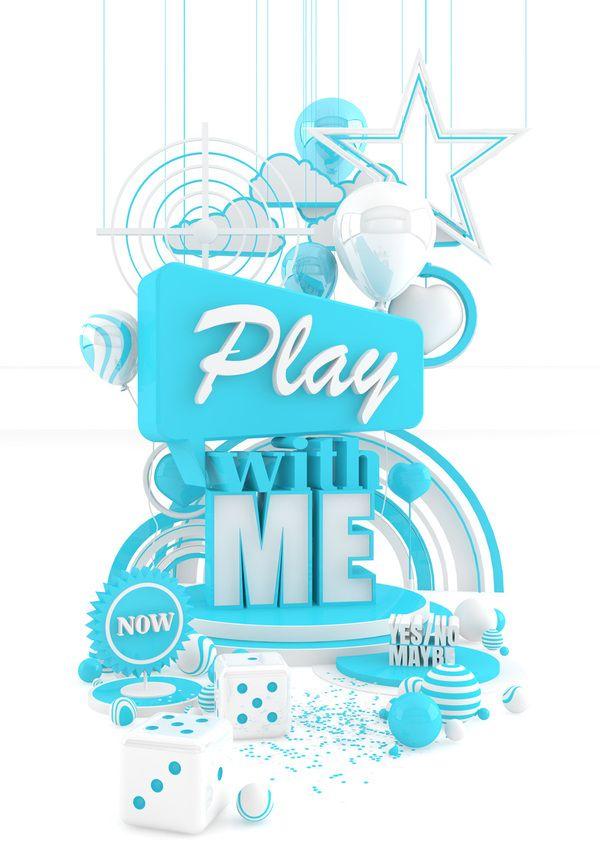 typographme: Marcus Stiller - 3D Typography Design Modelling