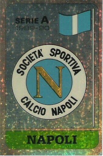 Napoli crest card.