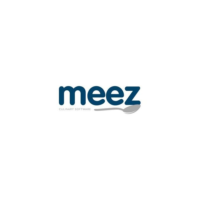 Create a text based logo that invokes professionalism for the new chef software app Meez by Rock_Lee