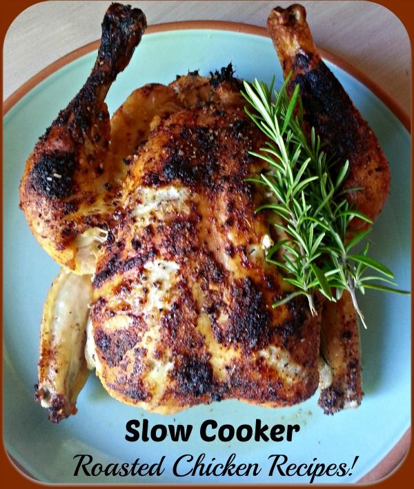 Whole Chicken Slow Cooker Recipe - Thrifty NW Mom