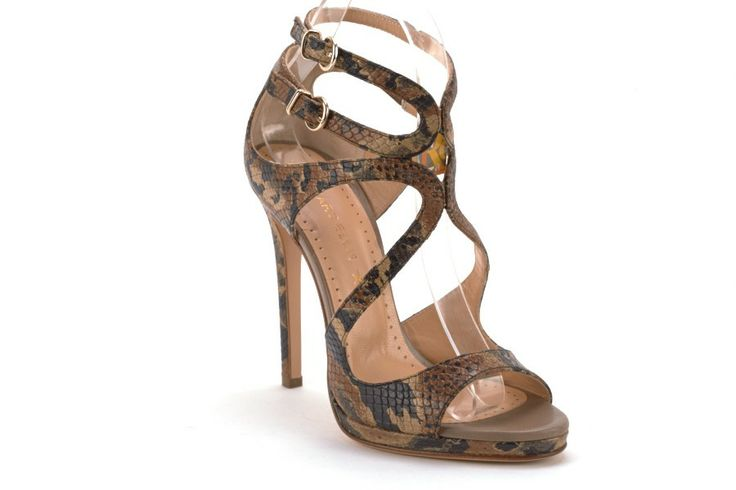 Scarpe Donna marc ellis Sandali tacco alto Pitonato corda