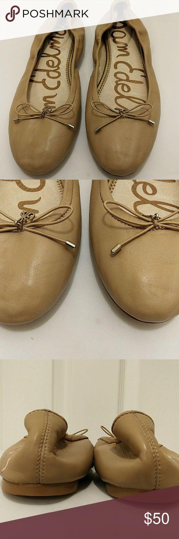Sam Edelman leather ballet flats Excellent condition no steans no rips Sam Edelman Shoes Flats & Loafers