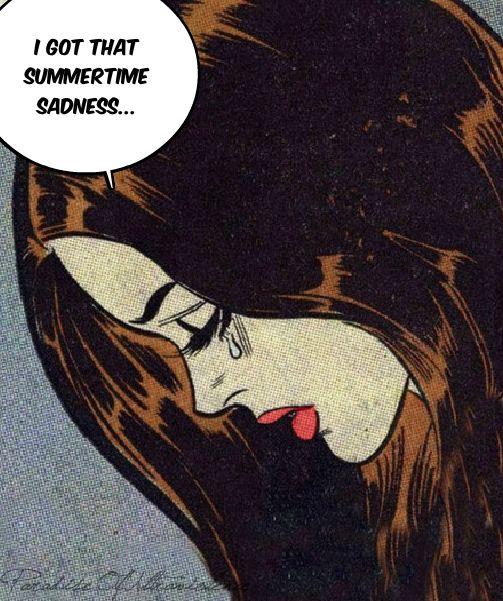 Lana Del Rey #LDR #pop_art  #Summertime_Sadness