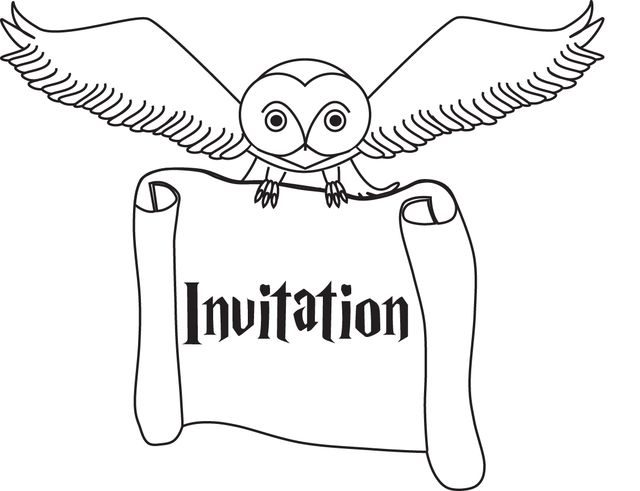 Make Invitations for Harry Potter Themed Parties With This