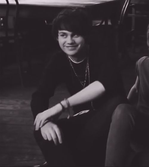 michael clifford black and white | 5sos michael clifford mc 5seconds of summer animated GIF