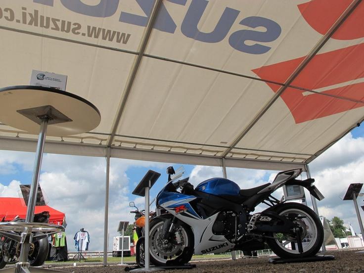Manchester Motorcycle Show: Suzuki Bikes