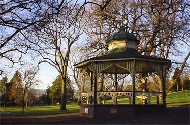 City Park Rotunda, Launceston Tasmania