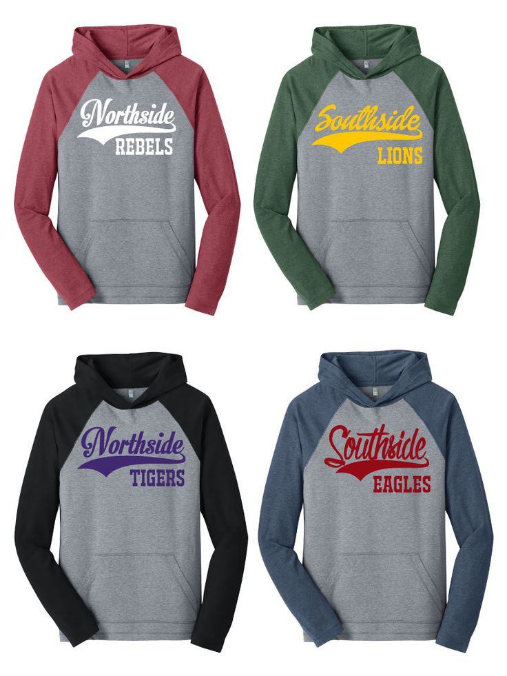 Custom text hooded raglan baseball softball hoodie any for Custom raglan baseball shirt