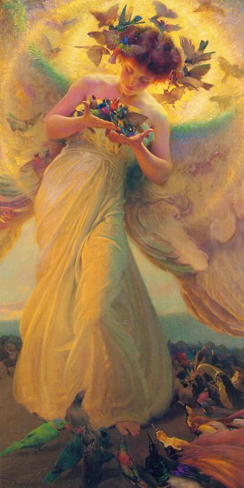 the angel of the birds, franz dvorak