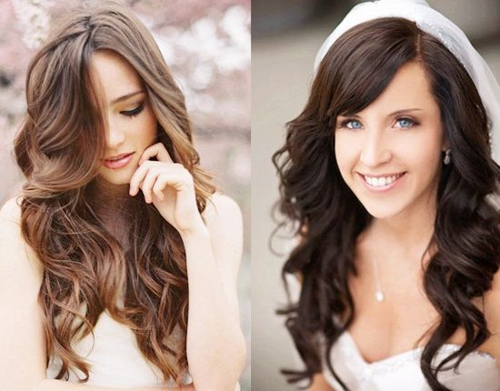 25+ Beautiful Wavy Wedding Hairstyles Ideas On Pinterest