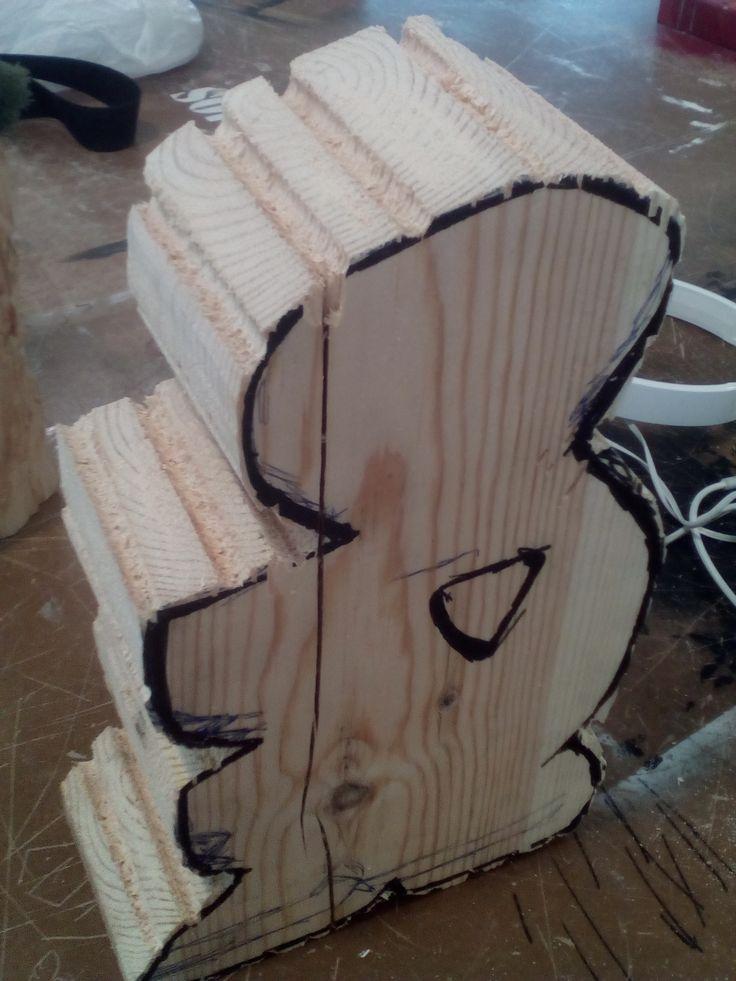 Talla en madera