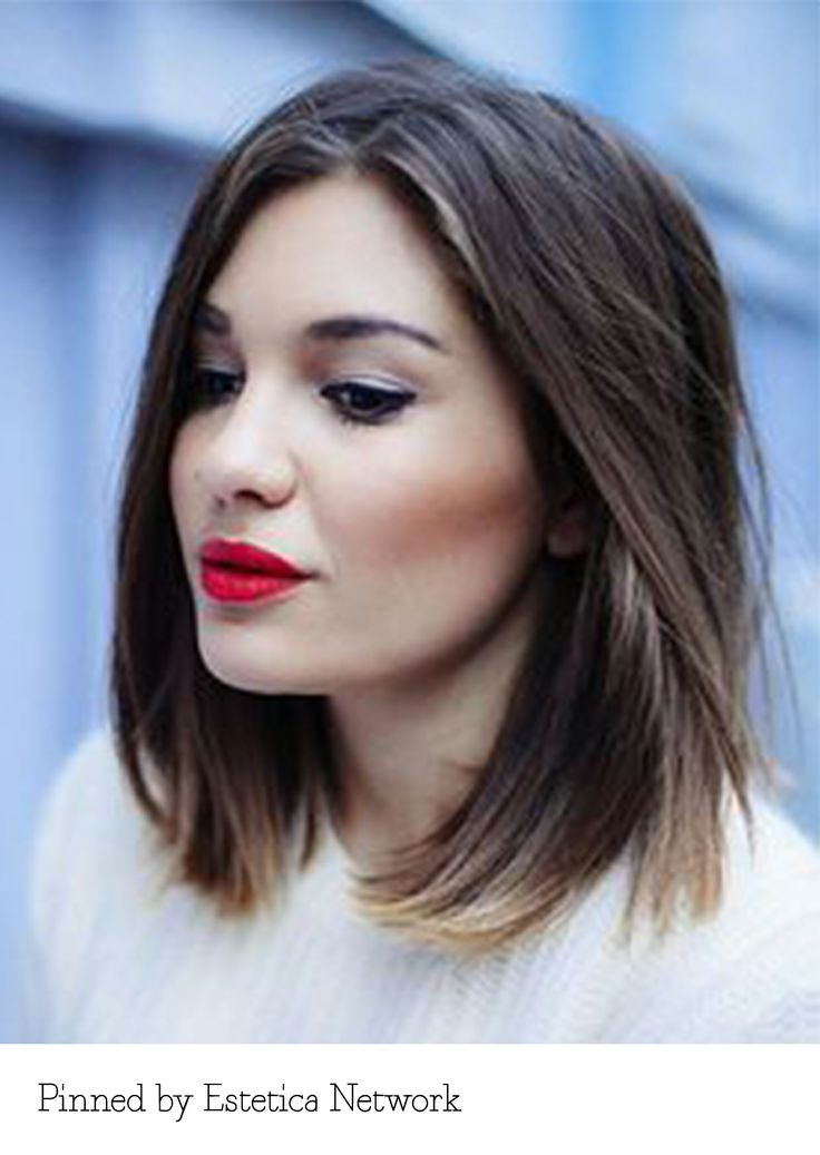 Classic bob with ombre - pinned by Estetica Netowork. Recreate it here: http://myhairdressers.com/hairdressing-training/classics-hair-cutting/a-line-bob.html