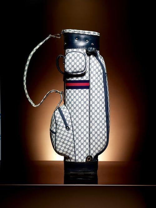 Golf Duffle Bag - Late 1970s  ☂. ☻  ☻ ☺