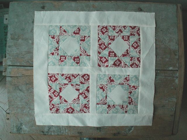 12 Little Quilt of Love #18 WIP by Alphenquilts, via Flickr