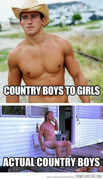 Lmao country boys