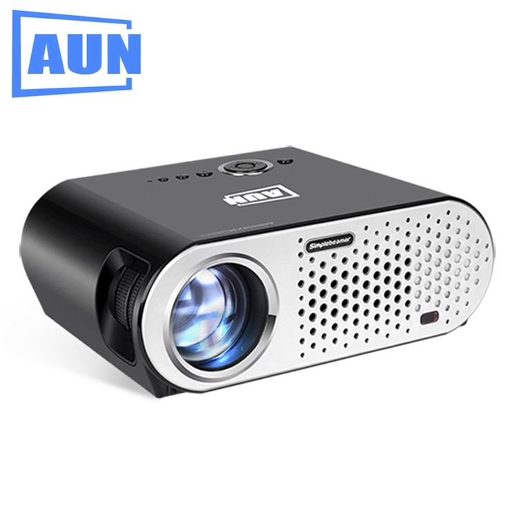 179.71$  Buy now - http://aliutc.shopchina.info/1/go.php?t=32816342780 - AUN Projector 1280 * 768 Resolution 3200 Lumens LED Projector Set in HDMI, VGA, USB Prot. HD Projector LED TV T90  #magazineonlinebeautiful