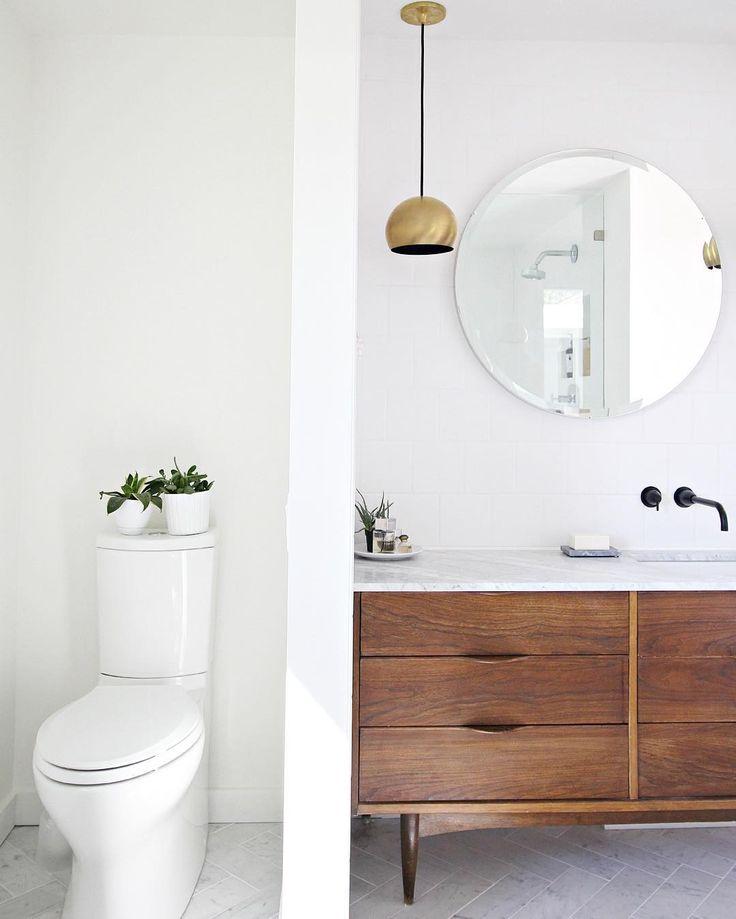 Mid Century Modern Bathroom Vanity Ideas: 1000+ Ideas About Modern Vanity On Pinterest
