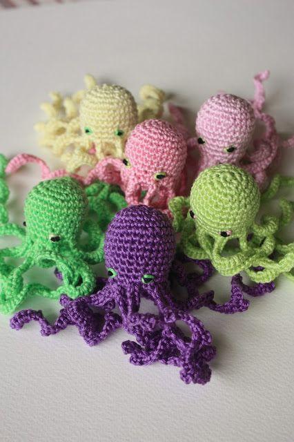 Amigurumi One Piece Pattern : Best 25+ Crochet octopus ideas on Pinterest
