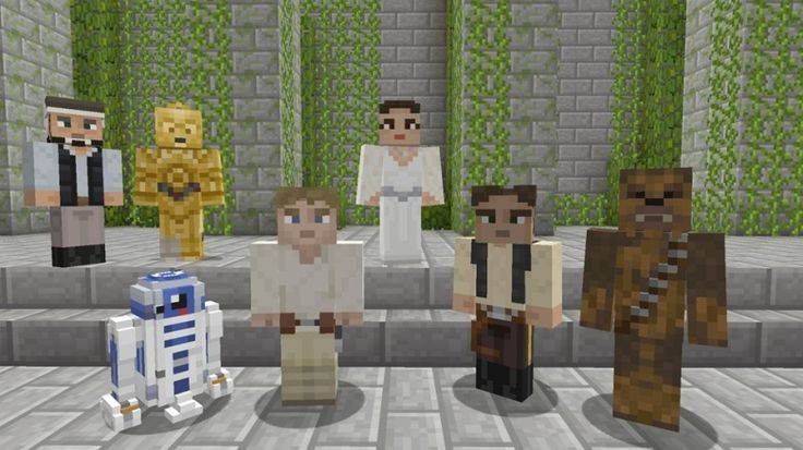 Elegant Star Wars Minecraft skins out now for a more civilized Xbox One and Xbox 360 | GamesBeat | Games | by Jeff Grubb