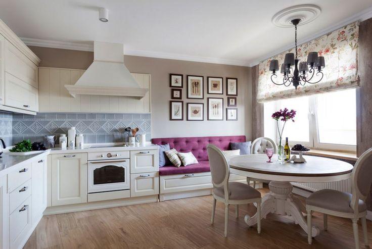 Уютная квартира в классическом стиле с элементами прованса