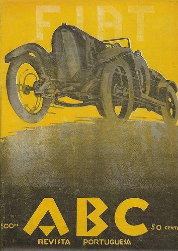 Revista ABC, número 111, ano III, 31 de Agosto de 1922. Capa de Stuart Carvalhais (1887-1961)