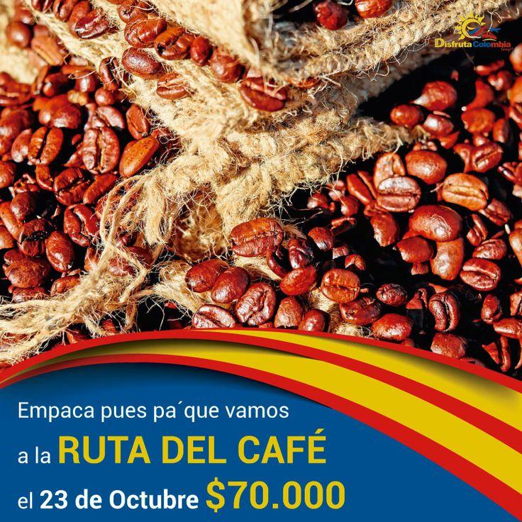 : #compratupasaje y vamos pa' la #rutadelcafe con la merjor #diversionycalidad