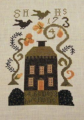 "Karen's Handiwork: Goode Huswife ""Sheldon Hawks House""...."