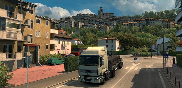Euro Truck Simulator 2 off to Italy in next expansion https://link.crwd.fr/1Pow