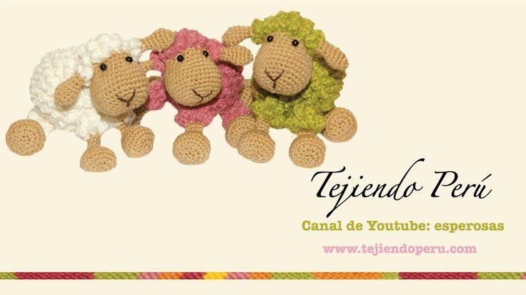 Por Esperanza Rosas; Ovejas tejidas a crochet (amigurumi) Parte 1: tejiendo el cuerpo