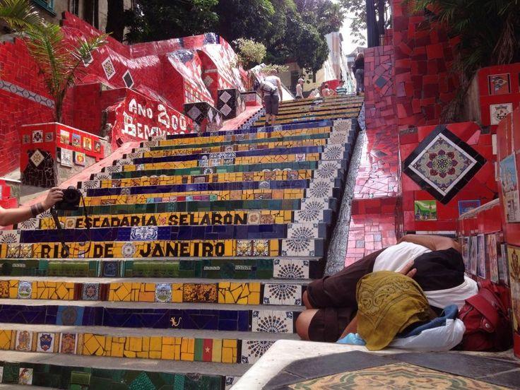 escalaras rio   ... Escadaria Selaron - Escalera de Selarón - Río de Janeiro - 6721151