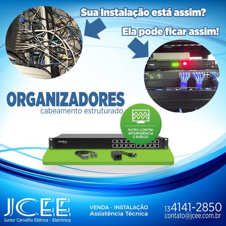 Organizadores de Cabos - CFTV