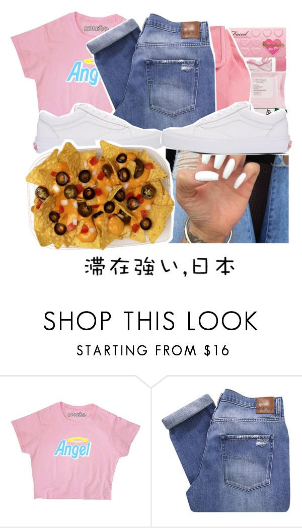 """""""Hip Hopper ~ Blac Youngsta 💰"""" by viinextdoor ❤ liked on Polyvore featuring Nobody Denim, Vans and Ÿù"""