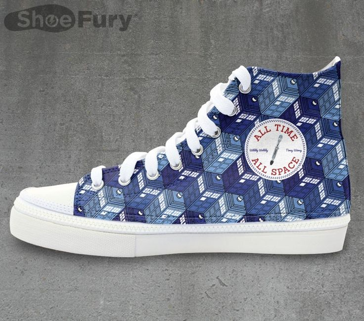 Doctor Shoe: High-tops and sneakers for Tardis fans