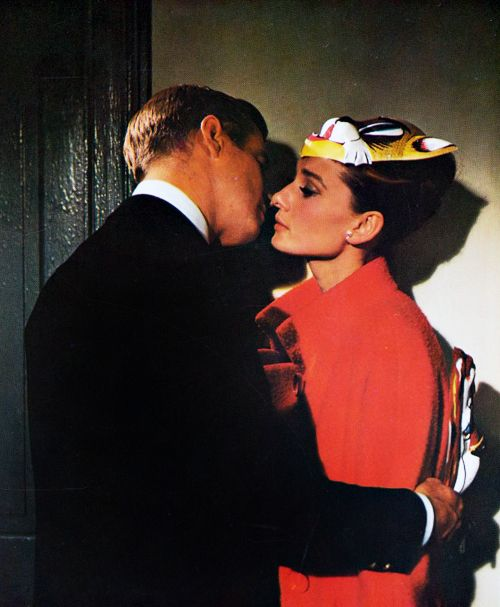 Audrey Hepburn in Breakfast at Tiffany's (1961).