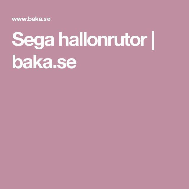Sega hallonrutor | baka.se