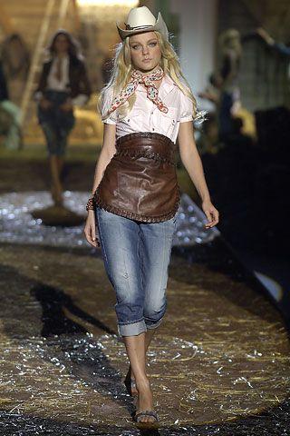 Дикий запад! – стиль вестерн в одежде   Матроны.RU
