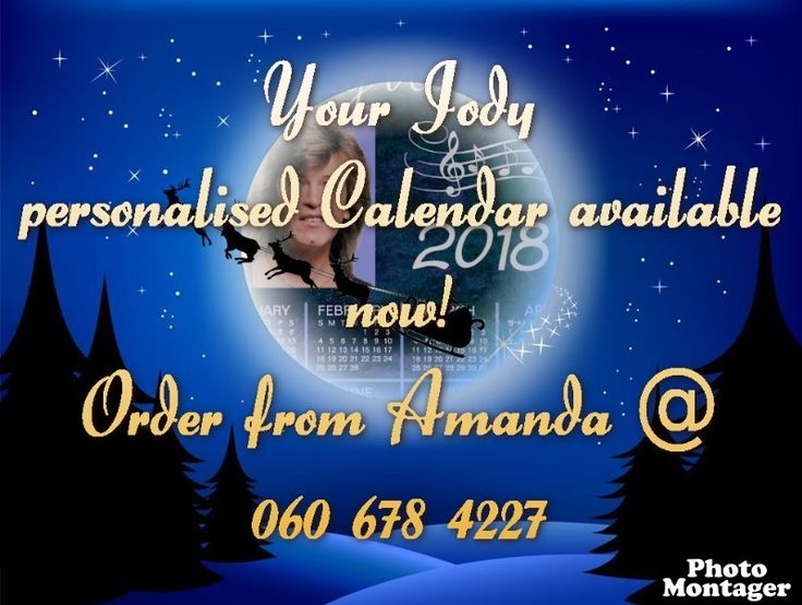 Moonlighting - Jody Wayne The Wandering Star Personalised Calendar...