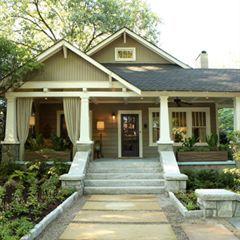 Photo Albums - Atlanta Magazine craftsman front porch and Porte cochere