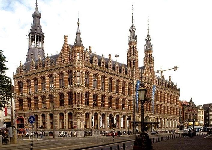 Magna Plaza shopping mall (former Amsterdam main postoffice)
