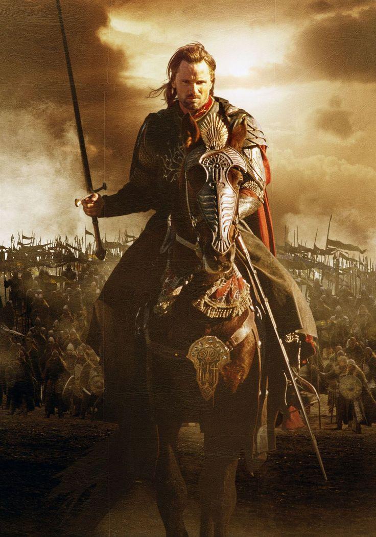 Viggo Mortensen dans le Seigneur des anneaux. Le retour du Roi. 2003. #LOTR #SDA