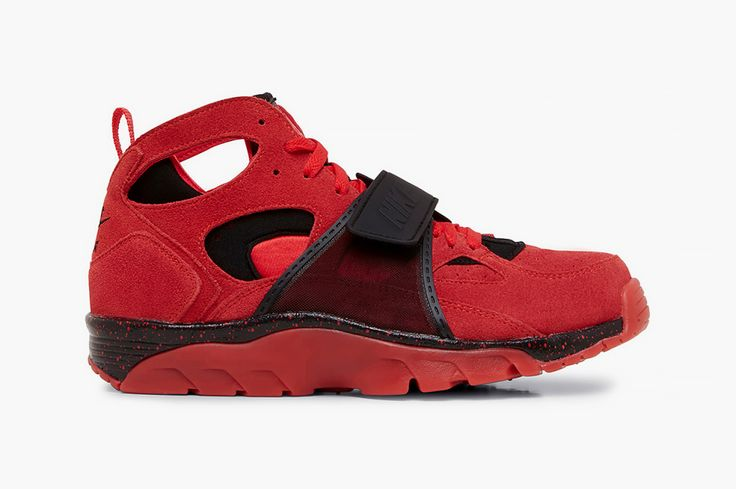 "#Nike Air Trainer Huarache PRM QS ""Challenge Red"" #sneakers"