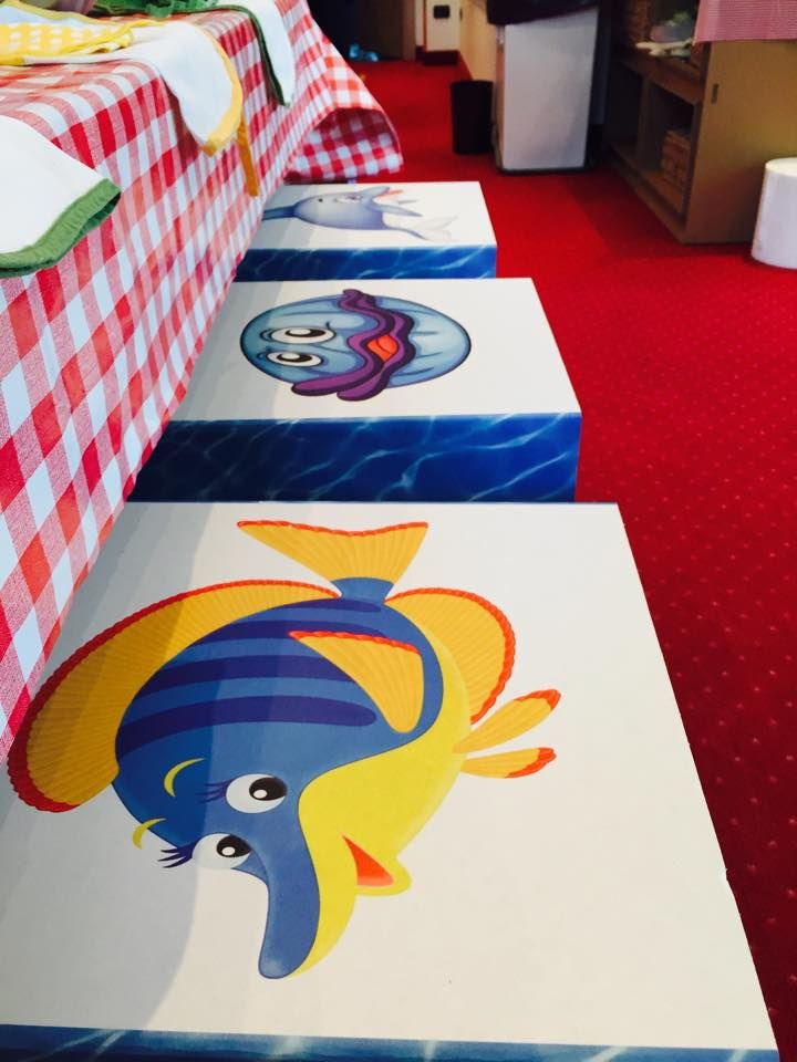 our little sea friends... organize a party with them at Park Hotel Brasilia! http://www.parkhotelbrasilia.com/en/miniclub.html