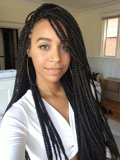 286 Best Braids Images On Pinterest Black Women