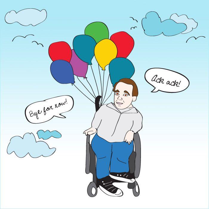 balloons midget Eric the