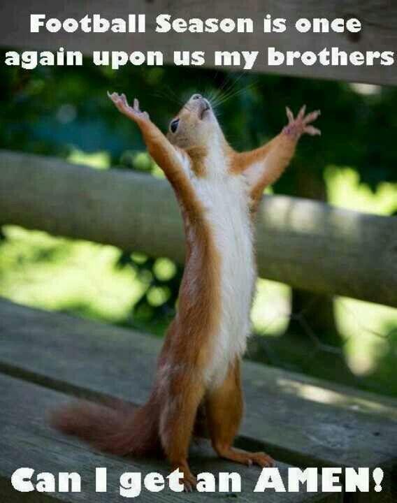 Amen! It's Steelers Football time!!