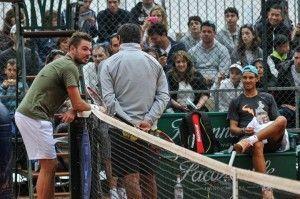Rafael Nadal, Stan Wawrinka training in Monte Carlo | Beat Tennis