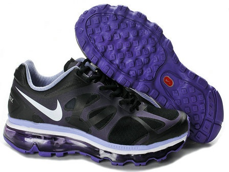 More and More Cheap Shoes Sale Online,Welcome To Buy New Shoes 2013 Womens  Nike Air Max 2012 Black White Purple Shoes [New Shoes - Womens Nike Air Max  2012 ...