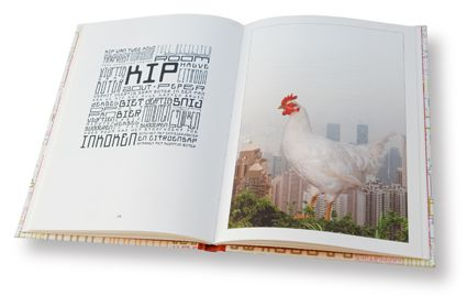 Kook - art / cook / book designed by Novo Typo